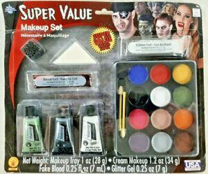 Halloween Rubies Super Value Makeup Set #19303 - Made in USA / USA Seller