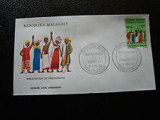 MADAGASCAR - enveloppe 9/12/74 - fokonolona - yt n° 551 - (cy7)