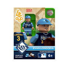 MLB Tampa Bay Rays Evan Longoria Generation 3 Toy Figure NEW Toys Baseball
