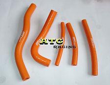 Silicone Radiator Hose for SUZUKI RM125 RM 125 96 97 98 99 00 orange