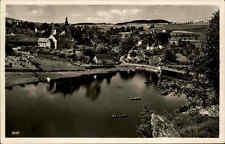 Harra Thüringen AK 1938 Partie am Stausee der Saale Talsperre vom Zwirbelfels