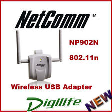 Netcomm Wireless N300 USB Adapter with External Antennas NP902N