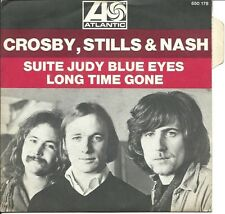 CROSBY, STILLS, & NASH suite judy blue eyes (PS) EX/VG+  french 7""