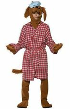 ADULT SICK AS A DOG COSTUME Funny Stag Animal Pet Dog Fancy Dress Outfit 12005