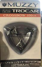 Muzzy Trocar Crossbow Broadhead - 100 Grain 3 Blade 1 3/16