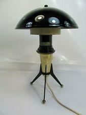 VINTAGE ATOMIC SPACE AGE MUSHROOM TRIPODE DESK LAMP