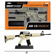 GI Joe Figure Accessory 2004 General Abernathy V3   Grey XM-15 Assault Rifle Gun