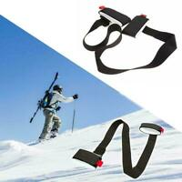 1 Pcs Ski Snowboard Shoulder Strap Lash Handle Straps Snowboard Ski Bag Pol A4E5