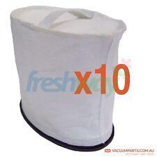 Hako XP Robotic Rocket Backpack Vacuum Cleaner Cloth Dust Bags #VPCB17, 10 Pack