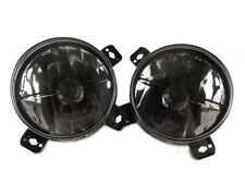 85-92 VW Golf Mk2 Mk.ll E-Code Inner Smoke Black Round Crosshair Glass Headlight