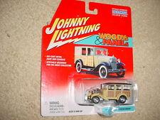JOHNNY LIGHTNING WOODYs & PANELs '31 FORD MODEL A STATION WAGON FREE USA SHIP