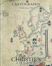 Christie'S London Cartography Maps Atlases Globes Auction Catalog 1999