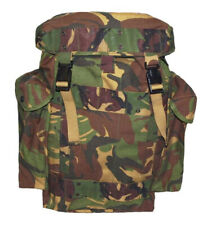 More details for dutch army cordura backpack 35 litre tactical combat dpm woodland rucksack 35ltr