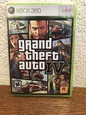 Xbox 360 Grand Theft Auto IV Brand New Sealed