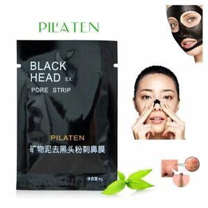 PILATEN Black Face Mask Blackhead Remover Deep Cleansing Peel Off Mask Mud UK