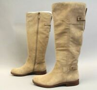 Sarto By Franco Sarto Women's Coley Knee High Boot AB3 Sandstone Suede Size 11M