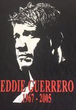 Eddie Guerrero Viva La Raza Small T Shirt Black Wwf Original Wwe