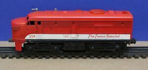 Lionel 210 Texas Special Alco Diesel Locomotive Powered 1958