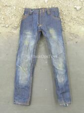 1/6 Scale Toy TWD - Carl Grimes - Blue Weathered Denim Like Jeans