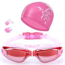 Swim Goggles Swim Cap Swimming Goggles No Leaking Anti Fog UV Protection Tria