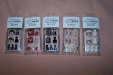 Dashing Diva Magic Press-Press On Pedicure 24 Nails NEW in Box You Choose Style