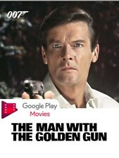 James Bond - The Man With The Golden Gun HD UV Code Google Play INSTANT DELIVERY