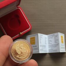 2013 OFFICIAL ARMENIAN COIN 10000 DRAM GOLD VAHRAM PAPAZYAN ( Armenia drams )