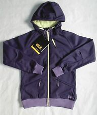 Jack Wolfskin Girls Size L  164/170 14 Sienna Softshell Jacket Prune Coat