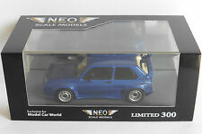 VOLKSWAGEN VW GOLF I GTO RIEGER METAL BLUE 1979 NEO 45826 1/43 BLAU METALLIC
