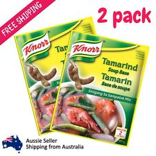 2 x Knorr Tamarind Soup Base Sinigang Sa Sampalok Mix Asian Sour Soup Powder 40g