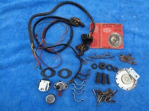 Fantic Motor Ti  GT 1970s Sports Moped. CEV Aprilia Electrical Switch Parts.