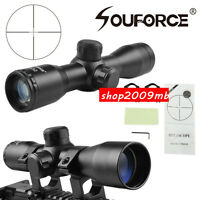 4X32 Compact Scope Reticle Hunting Riflescopes Reticle Fits 20 mm Rail Mount