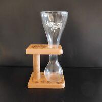 Chope verre cristal à bière Belgique beer glass crystal mug Belgium PAWEL KWAK