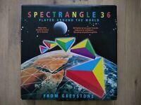 Rare Vintage Spectrangle 36 Original Edition 100% Complete Family Fun Age 5+