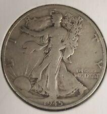 1945-S San Francisco Mint  silver Walking Liberty Half