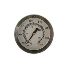 """2"""" BBQ Pit Smoker Grill Stainless Steel Thermometer Gauge Temp Barbecue Cook"""