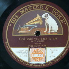 78rpm RUBY HEYL god send you back to me / coming home