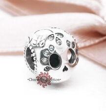 Pandora, S925,  Sparkling Skull Charm, Halloween, Bracelet S925 Charm, 797866CZ