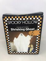 VTG Spooky Hallow Sound Activated Shrieking Ghost FOR PARTS ONLY NO SOUND READ