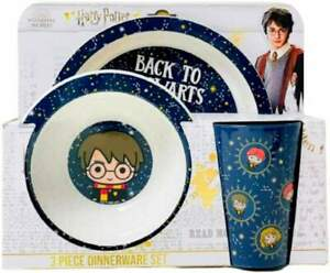 Harry Potter 3-Piece Dinner Set   Tumbler, Bowl and Plate   Tableware   Mealtime