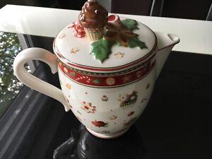 Winter Bakery Delight Kaffeekanne /Teekanne Villeroy & Boch Unbenutzt