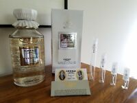 CREED AVENTUS 100% AUTHENTIC Glass Spray Decant Sample Legendary  BATCH# 17Y01