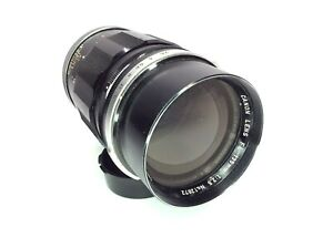 Canon FL FD 135mm f2.5 1:2.5 Manual Focus Prime Lens with Hood