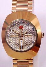 100% Rado Automatic Diastar Day&Date Swiss made Men's Wrist Watch Mint Condition