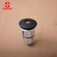 MTB Road Folding Bike Fork Headset Stem Expander Compressor+Carbon Top Cap 1-1/8