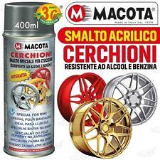 Macota Smalto Speciale Cerchioni Vernice Spray 400 ML Acrilico Oro Metallizzato