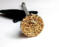Aztec Gold Shooter 24k Gold plated Coin for Pirates of the Caribbean POTC
