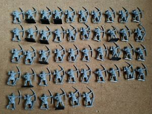 Warhammer Bretonnian Archers Plastic x46