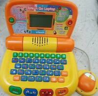 Vtech Tote and Go Laptop Plus Learning System Homeschool Education Games!