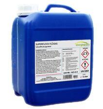 5 Liter Flockungsmittel flüssig Pool Wasserpflege Super Flockmittel